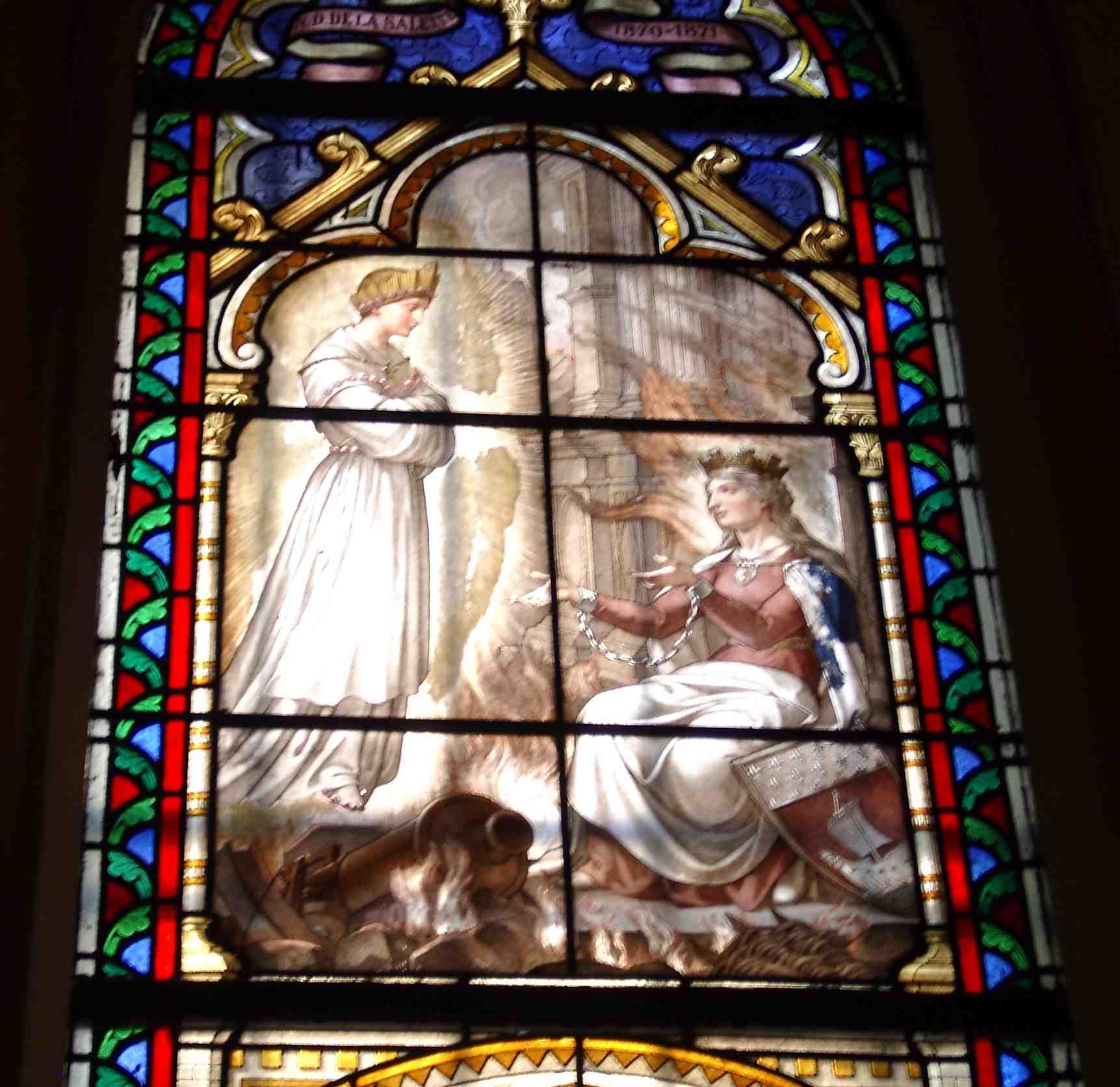 """Résultat de recherche d'images pour """"Icône de l'Apparition de Notre-Dame de La Salette"""""""
