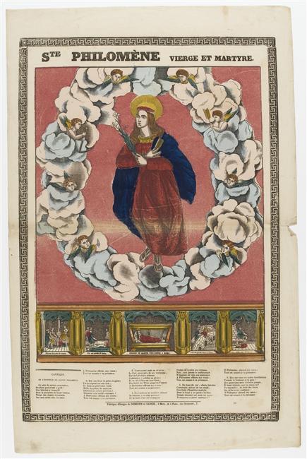 ... DE CULTE DE SAINTE PHILOMENE - IMAGES PIEUSES DE SAINTE PHILOMENE
